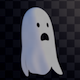 Cute Ghost Overlay - VideoHive Item for Sale