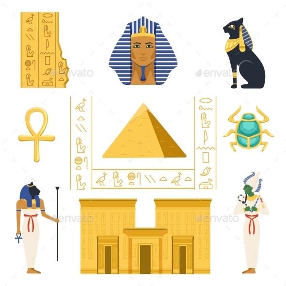 Egypt Set - Miscellaneous Vectors