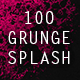 100 Grunge Splash Backgrounds