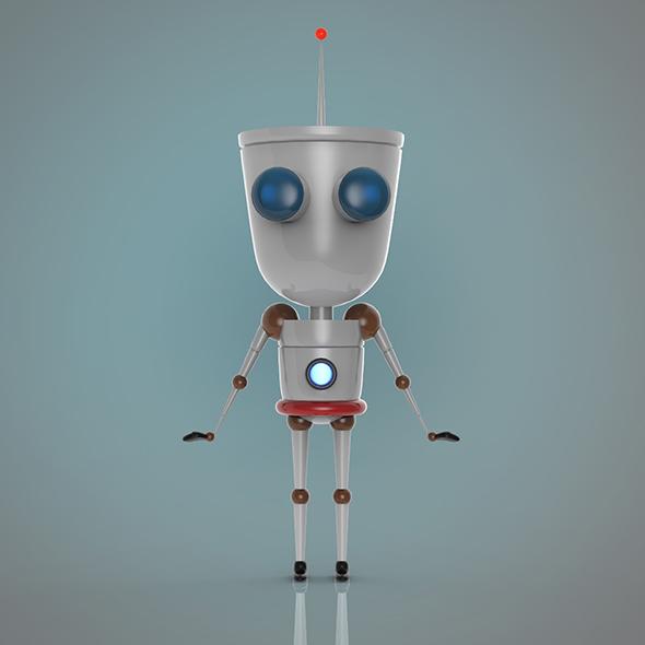3DOcean Robot 20600965