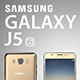 Samsung Galaxy j5 2016 - 3DOcean Item for Sale