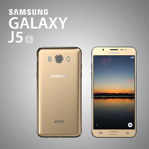 Samsung Galaxy j5 2016 - 3DOcean Item for Sale