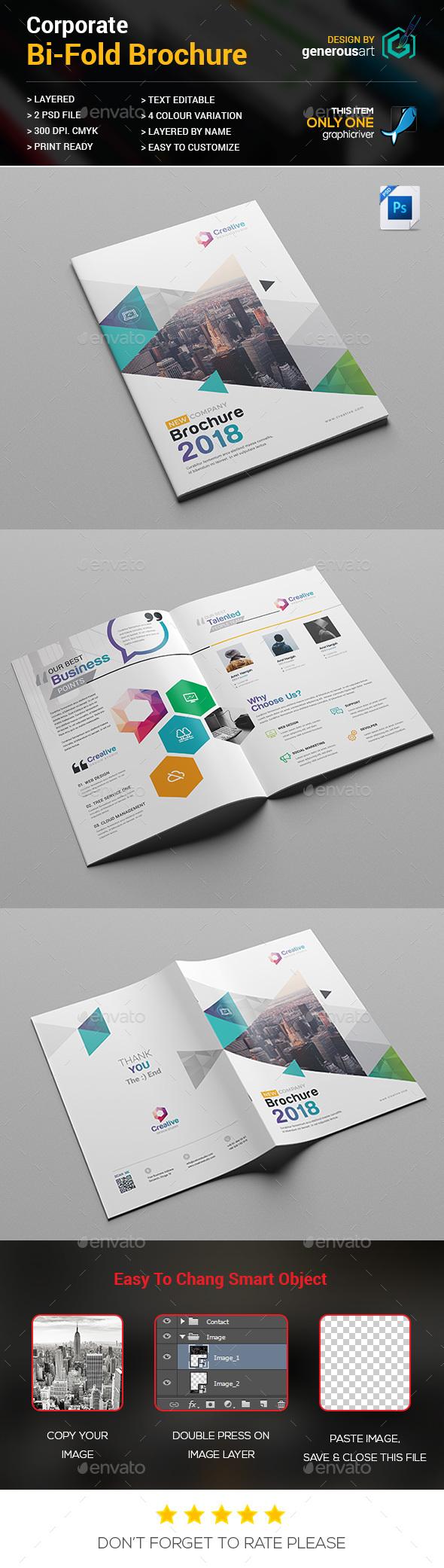 bi fold brochure template by generousart graphicriver. Black Bedroom Furniture Sets. Home Design Ideas