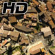 Medieval Gothic Stone Town Aerial Drone View - VideoHive Item for Sale