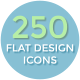 Flat Design Icons - VideoHive Item for Sale