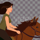 Female Horseback Rider - VideoHive Item for Sale