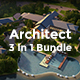 3 in 1 Architecture Bundle Powerpoint