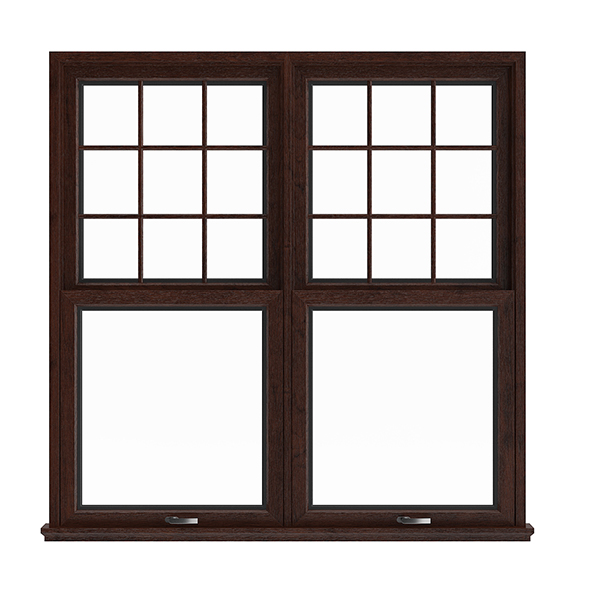Wooden Window (143.5 x 140 cm) - 3DOcean Item for Sale