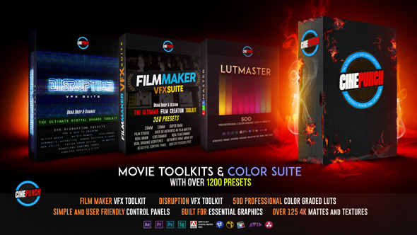 VideoHive CINEPUNCH Master Suite 20601772