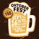 Oktober Fest Flyer Template - GraphicRiver Item for Sale