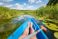 Kayaking on the river in the summer. - PhotoDune Item for Sale