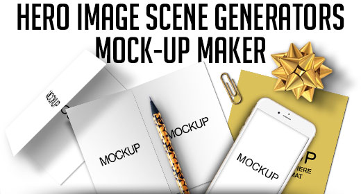 Hero Image Scene Generators Mock-Up Maker