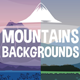 2D Game Mountain Parallax Backgrounds