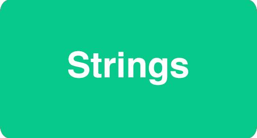 Instrumentation - Strings