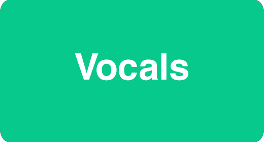 Instrumentation - Vocals
