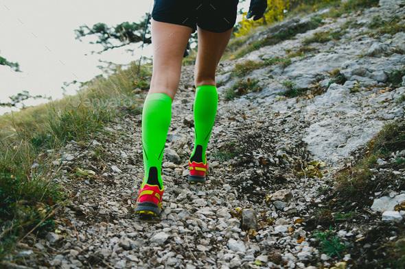 Slender legs girl - Stock Photo - Images
