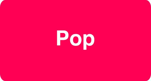 Music Genre - Pop