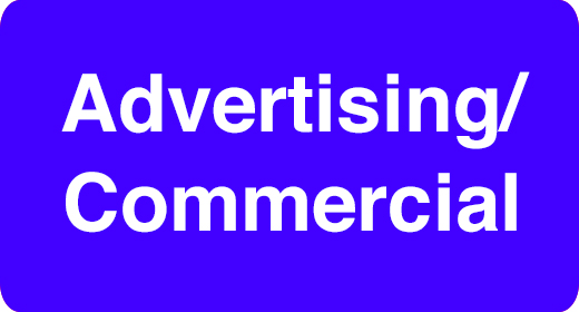 Usage - Advertising Commercial TV