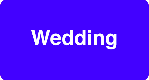 Usage - Wedding