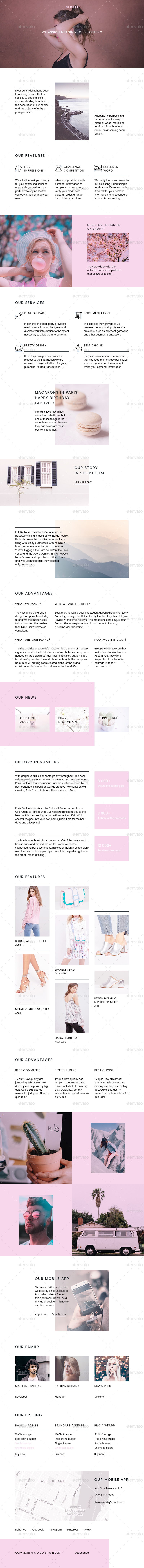 Gloria / Multipurpose Email Template