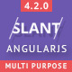 Slant - Multi Purpose AngularJS Admin Web App with Bootstrap - ThemeForest Item for Sale