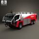 Oshkosh Striker 3000 Fire Truck 2010