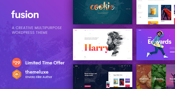 ThemeForest Fusion Creative Multi-Purpose WordPress Theme 20320094