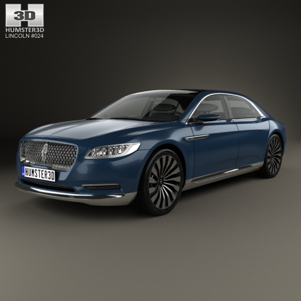 3DOcean Lincoln Continental 2015 20602698