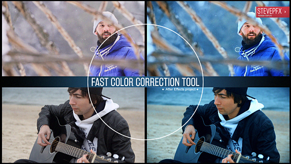 VideoHive Fast Color Correction Tool 20602742