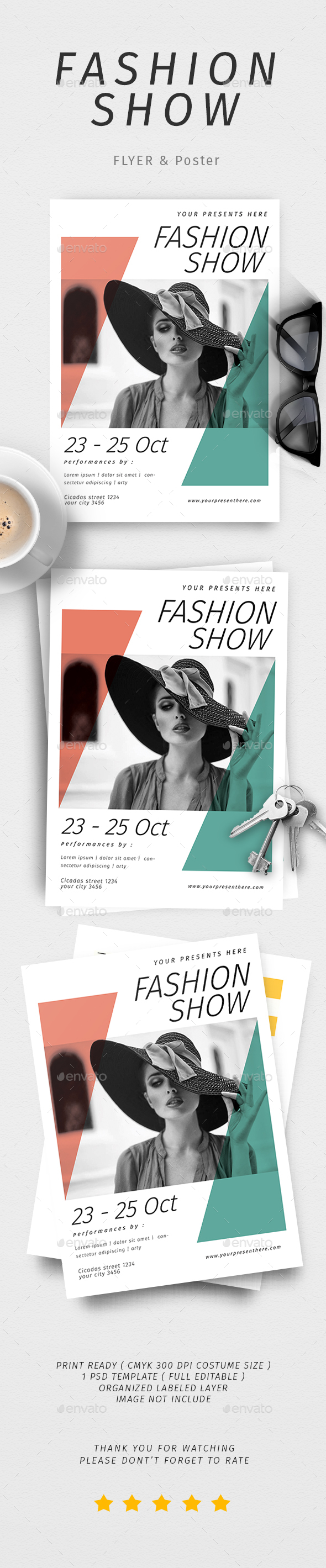 Fashion Show Poster & Flyer - Events Flyers