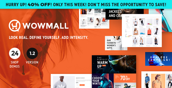 WOWmall: Fastest Responsive WooCommerce WordPress Theme