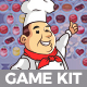 Happy Chef Ball Shooting Game Kit