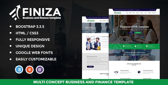 Finiza - Business & Finance HTML Template