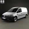 Volkswagen caddy (mk4) maxi panelvan 2015 590 0001.  thumbnail