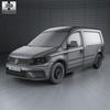 Volkswagen caddy (mk4) maxi panelvan 2015 590 0003.  thumbnail
