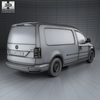 Volkswagen caddy (mk4) maxi panelvan 2015 590 0004.  thumbnail