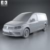 Volkswagen caddy (mk4) maxi panelvan 2015 590 0011.  thumbnail