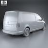 Volkswagen caddy (mk4) maxi panelvan 2015 590 0012.  thumbnail