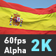 Flag Spain - VideoHive Item for Sale