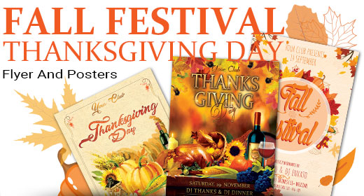 Fall Festival And Thanksgiving Day