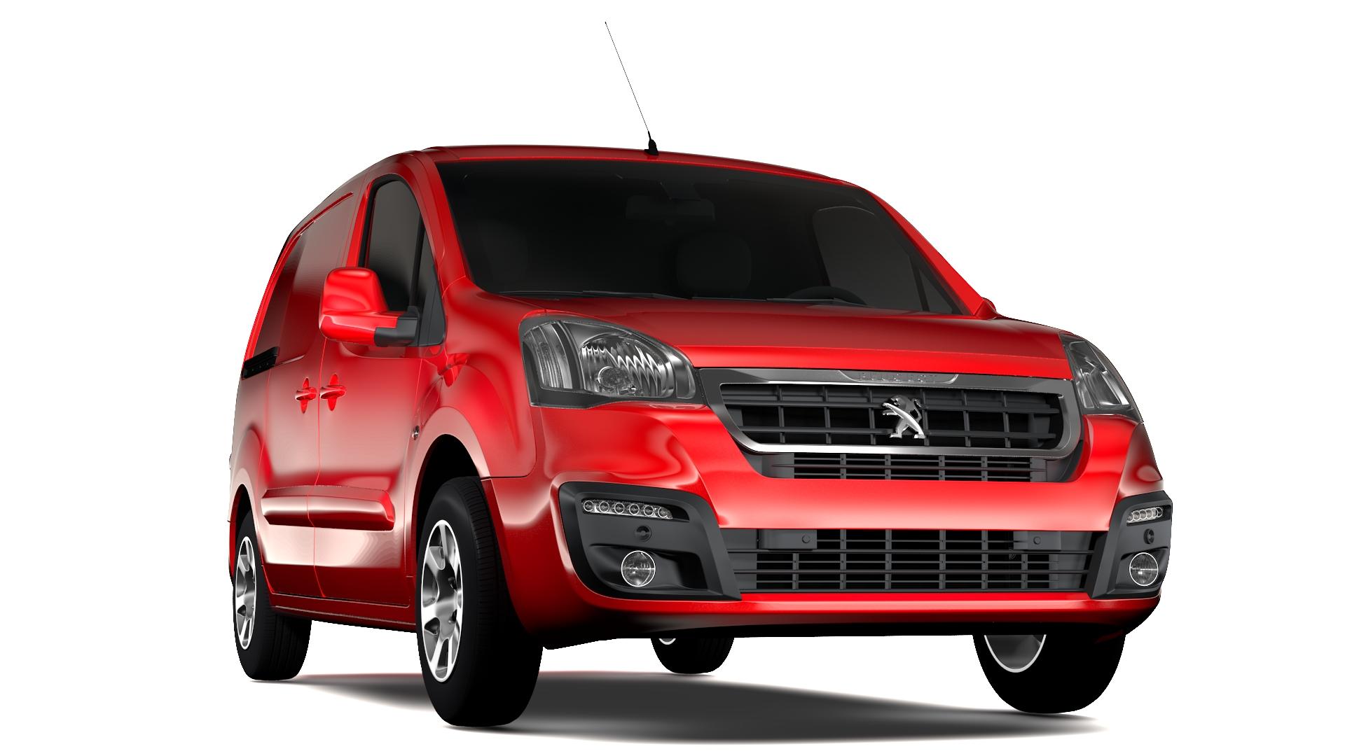 Peugeot Partner Van L1 Electric 2017
