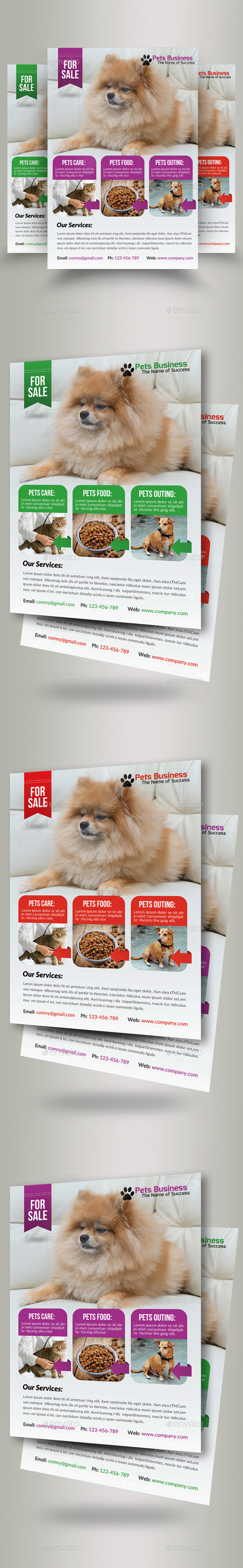 Pet Shop Business Flyers - Corporate Flyers