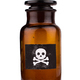 poison bottle isolated on white - PhotoDune Item for Sale