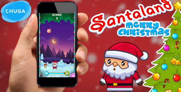 Download Santaland: merry christmas 2017 - admob, construct 2