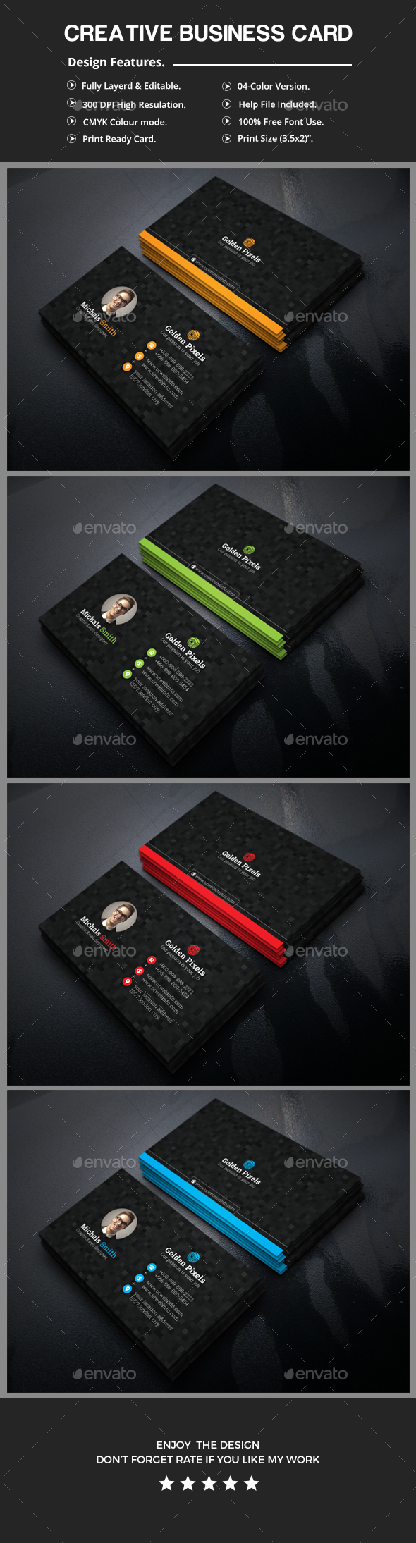 GraphicRiver Business Card 20588643