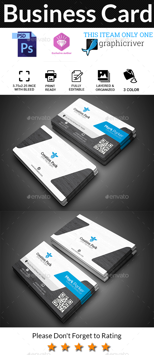 GraphicRiver Business Card 20603485