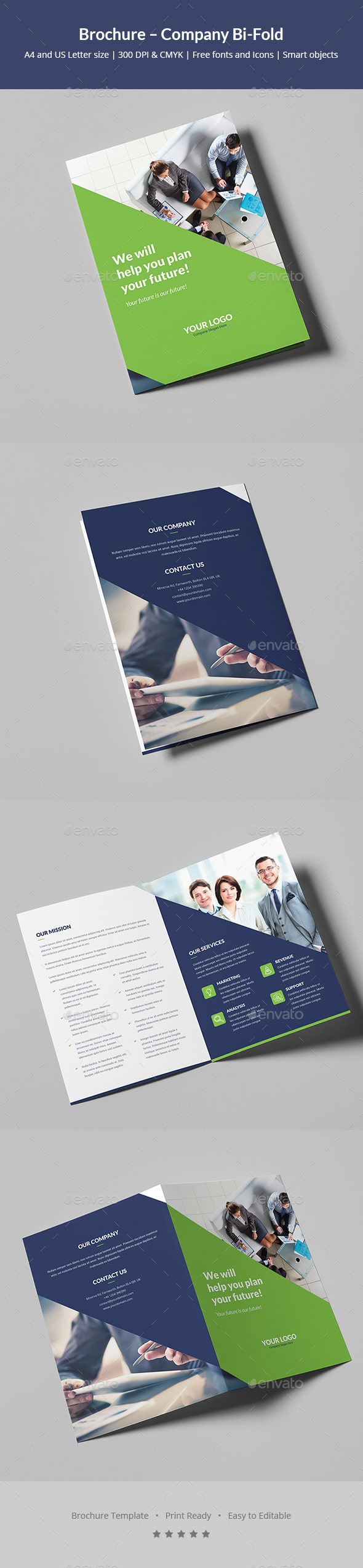Brochure – Company Bi-Fold - Corporate Brochures