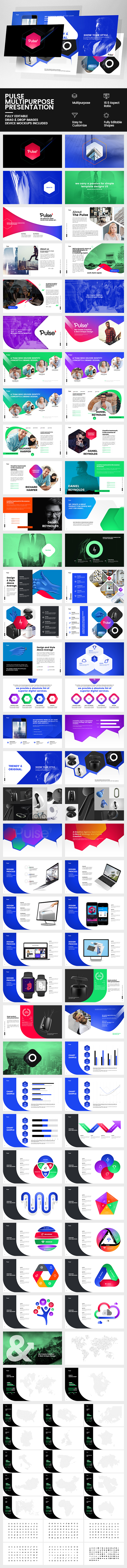 GraphicRiver Pulse Keynote Multipurpose Presentation 20603877