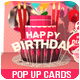 Birthday pop up cards