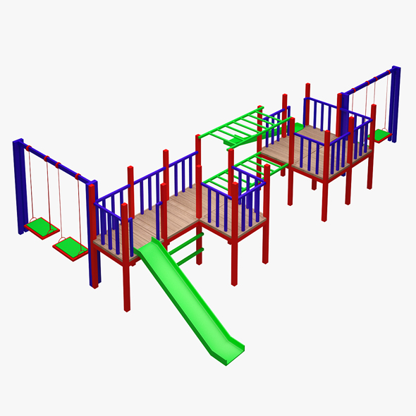 3DOcean Kid's Playground 20604136